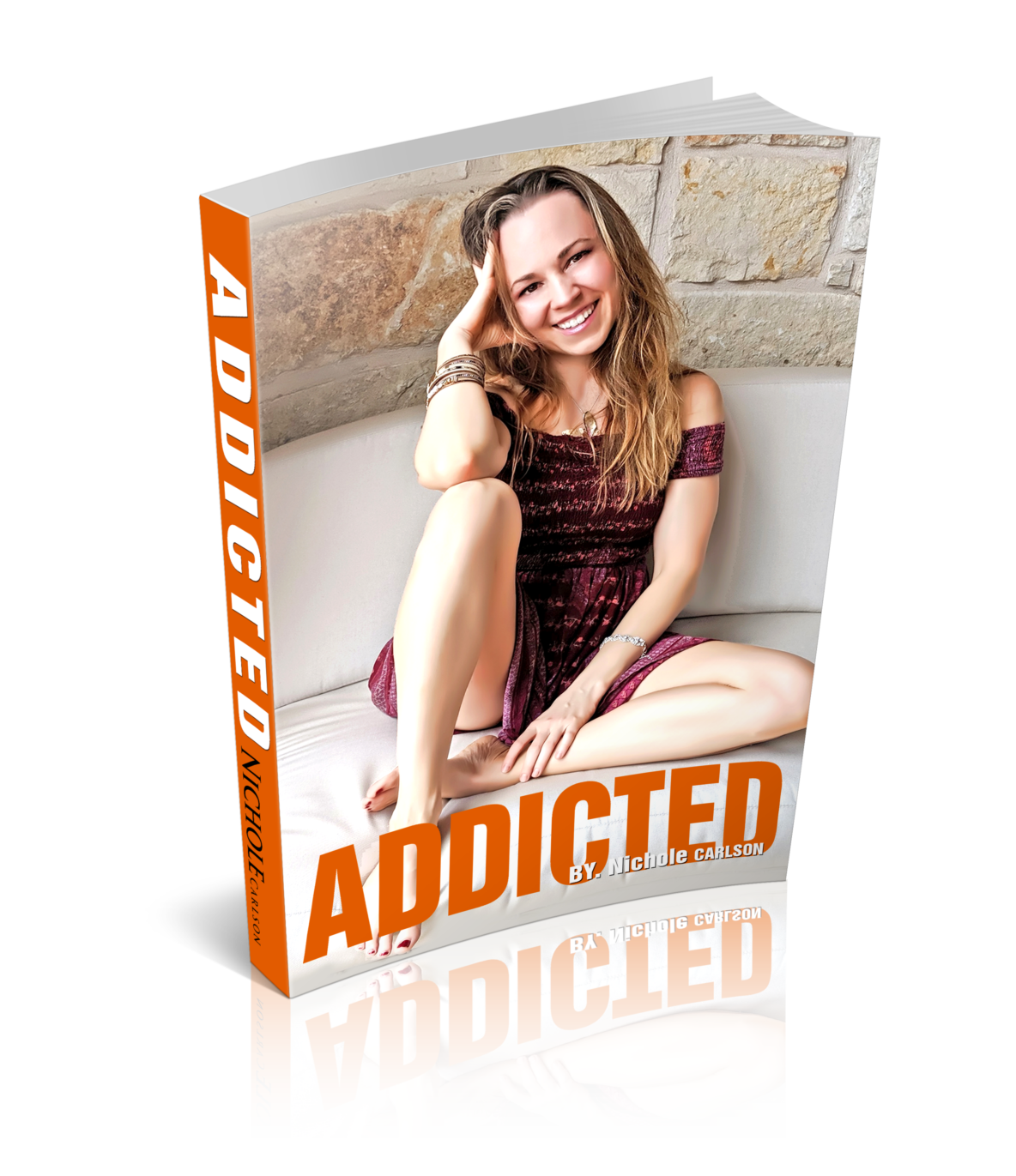 Nichole Carlson, Addiction the book, Adderall